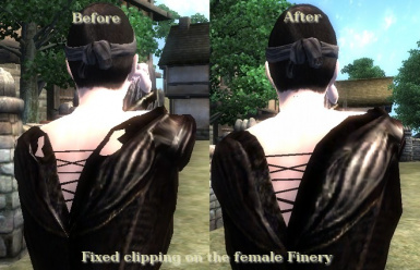 Fixed Female Finery