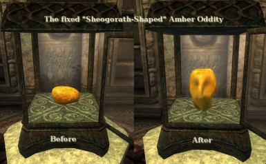 Sheogorath-Shaped Amber that really is