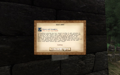 Quest Added Menu