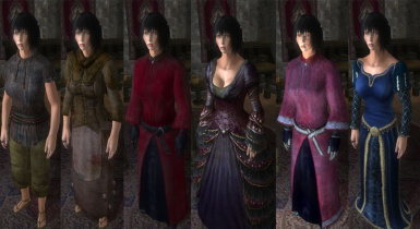 Clothing and Armor Replacer for Exnems  Complete