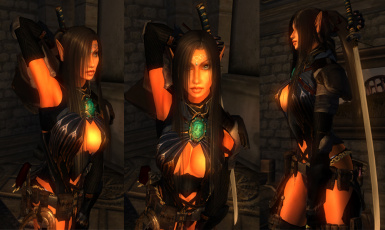 Min Mystic Elf Female and Armor