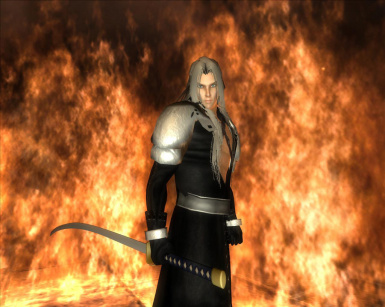A Playable Sephiroth Character