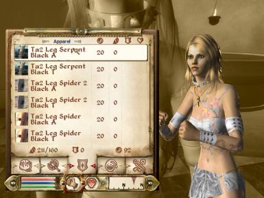 RGMs Equipable Tattoos for Bab