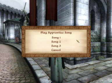 Play Lute with skill system