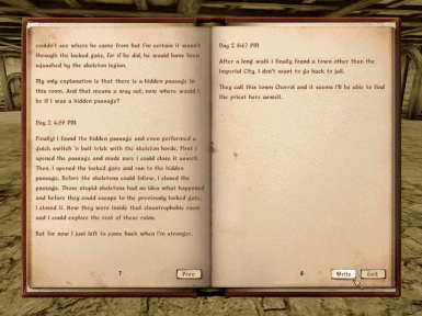 Journal Mod by Kyoma