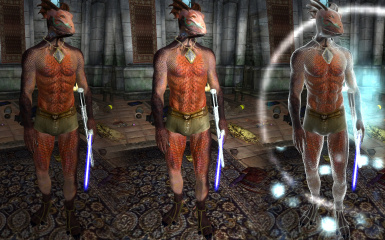 Compilation shot of new normalmaps for Breezes Defined Male Bodies