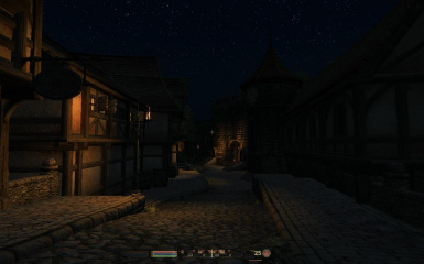 Chorrol at Night 2