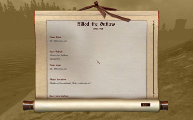 Identify Hillod the Outlaw