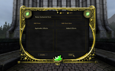 Enchantment Menu
