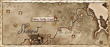 The Pellew Family Crypt Location