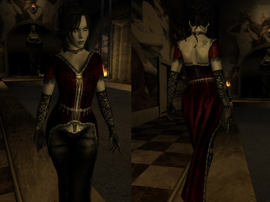 Bab_Sinblood Vampire Outfits