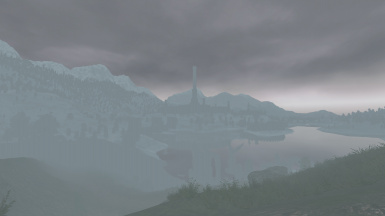 A foggy day over Imperial Isle