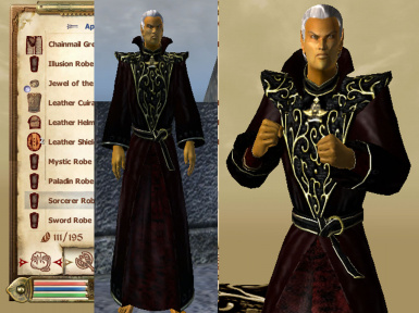 Mages Guild mage robe