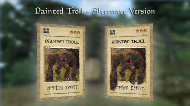 Painted Troll cards comparison