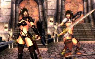 Argent Armor S M H  cup and Bikini for HGEC