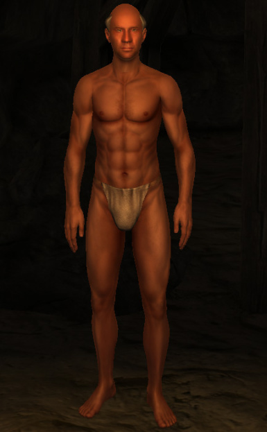 Normal map Replacer for Roberts Male Body V4