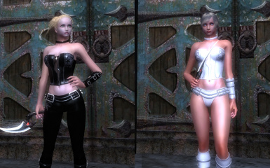 Gloria and Trish Armor for HGEC