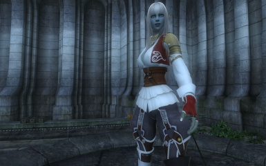 Eileen Telvanni - Lineage Dark Elf - Save - Face - Companion