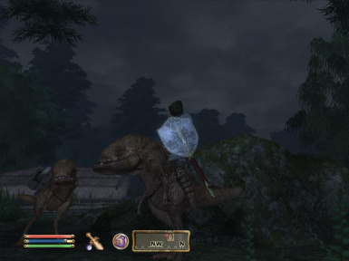 Player on Guar Mount