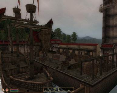 Fort Akatosh docks