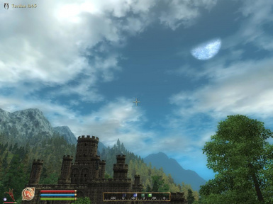Castle Chorrol Visible From Cyrodiil