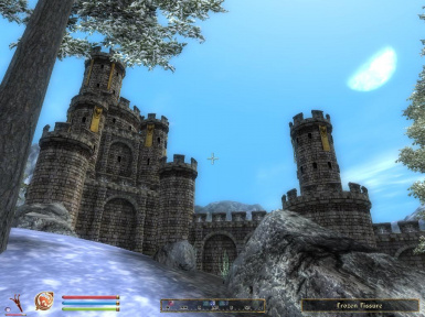 Castle Bruma Visible From Cyrodiil