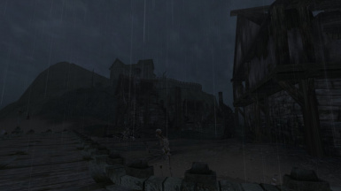 Dark and Stormy Village