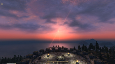 Legion Fort Sunset Vista