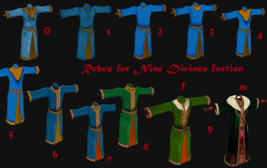 All robes on one pic
