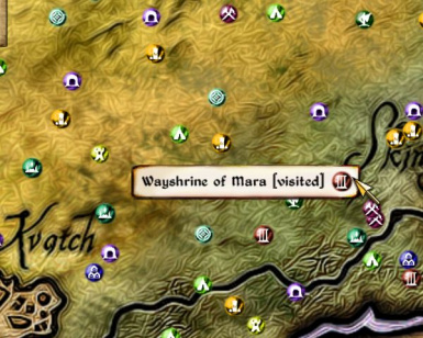 Elven Map Icons