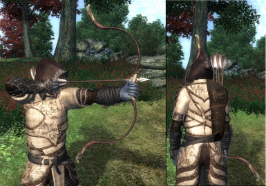 Mirondil bow and Sotonhorian arrows