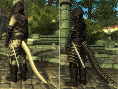 tail armors for argonians