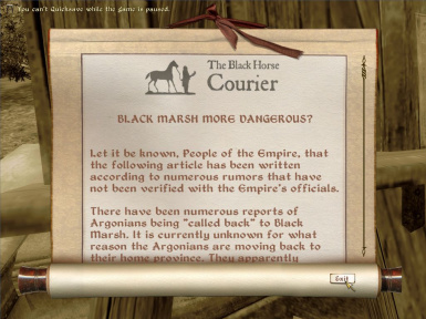 Black Horse Courier Expanded