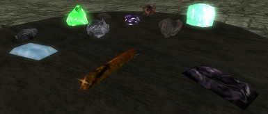 Examples of COBL ores and ingots which can be grinded into ingredients