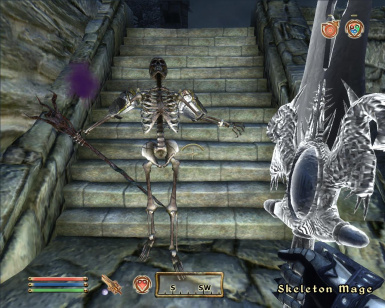 Skeleton Mage - Lichdom has failed