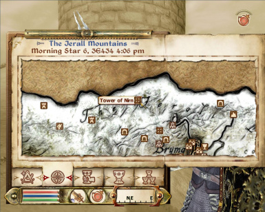 Location of Tower of Nirn