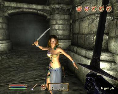 Nymph from Daggerfall