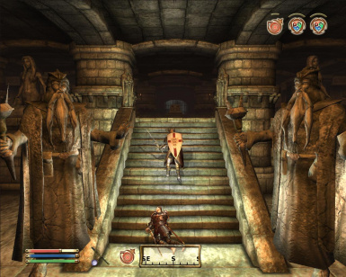 Forgotten Dungeon - Hall of Statues 2