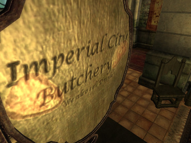 Imperial Butchery Sign