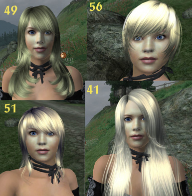 Cool Hair for Vilja 1 - Optional file