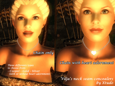 Xtudos Neck seam concealers for Vilja