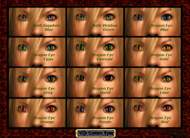 Alt3rn1tys custom eyes for Vilja ver 2