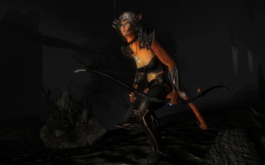Dark Adventuress Bow Set
