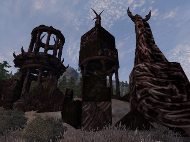 Daedric Shrine Ruins