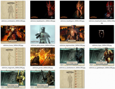 Oblivion ThemePacks for Windows 7
