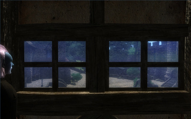 Looking Out a Window in Chorrol Thanks to Immersive Interiors