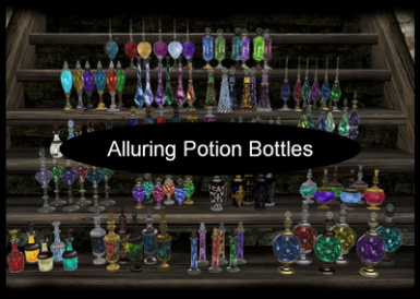 Alluring Potion and Wine Bottles v3 for OOO