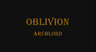 Oblivion ArchLord