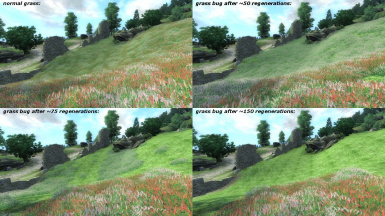 Disappearing Grass Fix for Oblivion and Nehrim