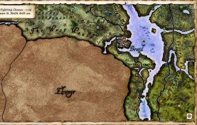 Elven Map style - basic